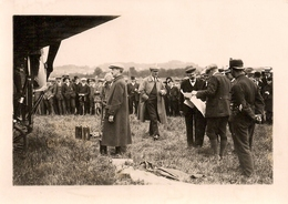 Aviation - Aviateur Oskar Bider - Lausanne-Blécherette - 1913 - Rare - Lot De 2 Photos - Reproductions