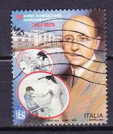 2018  CARLO BESTA   USATO - 6. 1946-.. Repubblica