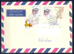 K593- Postal Used Cover. Posted From Czech Republic To Pakistan. - Czech Republic