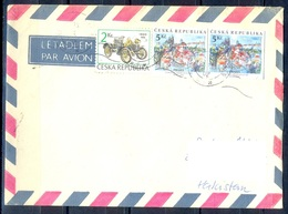 K594- Postal Used Cover. Posted From Czech Republic To Pakistan.  Transport. Car. - Czech Republic