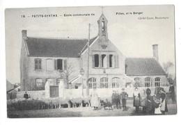 PETITE SYNTHE (59) école Communale De Filles Et Berger - France
