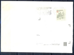 K597- Postal Used Cover. Posted From Czech Republic To Pakistan. - Czech Republic