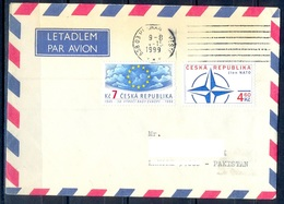 K601- Postal Used Cover. Posted From Czech Republic To Pakistan. - Czech Republic