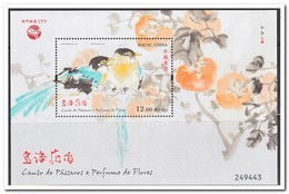 Macao 2018, Postfris MNH, Birds, Flowers - Ongebruikt