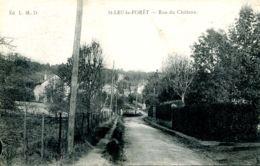 N°72664 -cpa Saint Leu La Forêt- Rue Du Château- - Saint Leu La Foret