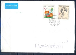 K606- Postal Used Cover. Posted From Czech Republic To Pakistan. - Czech Republic