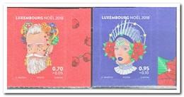 Luxemburg 2018, Postfris MNH, Christmas - Ongebruikt