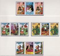 YEAR INTERN. OF CHILD - BELIZE - Mi. Nr.  (518-525) X 2 + BF 23 - NH - (6532-1/3.) - Belize (1973-...)