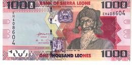 Sierra Leone P.30 1000 Leones 2013  Unc - Sierra Leona