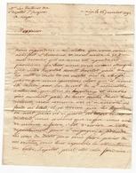 Lettre 1792 Aix En Provence Bouches Du Rhône Révolution Française  Hôpital Saint Jacques Aups Var - Marcophilie (Lettres)