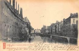 Gent Gand  Quai Et Ancienne Abbaye Des Dominicains    Kaai En Vroeger Klooster     I 6070 - Gent