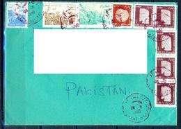 K615- Postal Used Cover. Posted From Algeria Algerie To Pakistan. - Algeria (1962-...)