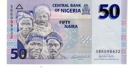 Nigeria P.35 50 Naira 2007   Unc - Nigeria