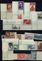 France - 1946 - Postes Année Complète BDF - 24 Timbres - N° 748/771 - Neufs XX - MNH - TB - - 1940-1949