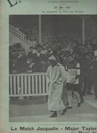 LA VIE ILLUSTREE 24 05 1901 - CYCLISME COURSE JACQUELIN/MAJOR TAYLOR - REVUE VINCENNES - INDE PENDJAB UMRITZAR - Libros, Revistas, Cómics