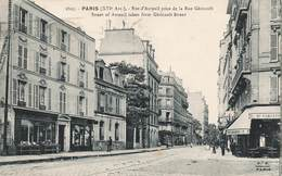 75 Paris 16e Arrondissement Rue D' Auteuil Prise De La Rue Gericault Cachet 1923 - Arrondissement: 16