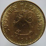 Finland 10 Pennia 1969 UNC - Finland