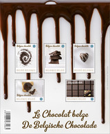 Blok 206**Chocolade** Feuille 4315/19** Bloc Chocolat MNH - Perfect Sheet Belgium 2013 - Blocks & Sheetlets 1962-....