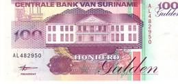 Surinam P.139b 100 Gulden 1998 Unc - Surinam