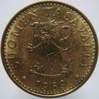 Finland 20 Pennia 1969 UNC Scarce - Finland