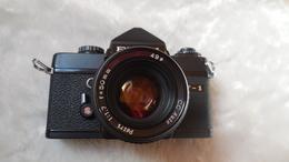 Appareil Photo PETRI MF-1, Objectif C.C AUTO, F=50mm, 1:1.7,objectif Souple - Appareils Photo