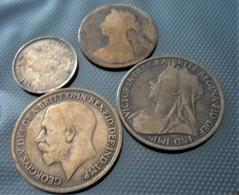 Grande-Bretagne  LOT 4 PCS 1888/1900/1916 - 1816-1901 : Muntslagen XIX° Eeuw