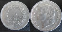 Pièce 5 Francs 1946 - France
