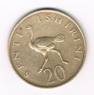 20 SENGI 1966 TANZANIA /3909/ - Tanzanie