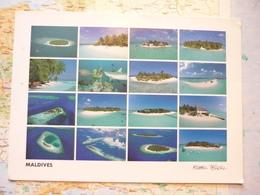 Vues Multiples Des Iles Maldives - Maldives