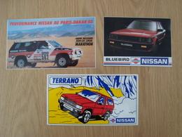 LOT DE 3 AUTOCOLLANTS NISSAN - Autocollants