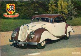Panhard-Levassor Dynamic Coupe  -  1937  -  Carte Postale - Voitures De Tourisme