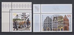 Bund 2356-2357 Eckrand Links Oben Bilder Aus Dt. Städten (II) ESST Frankfurt - BRD