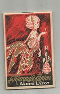Carnet De Commande , LA MARQUISE D'ANJOU ANDRE LAFOY, Chatellerault Et Angers ,2 Scans, Frais Fr 1.65 E - Autres Collections