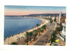 CPA La Côte D'azur Nice La Promenade Des Anglais - Nice