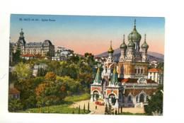 CPA La Côte D'azur Nice  Eglise Russe - Monuments