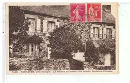CPA-22-1937-PORS-EVEN-LA MAISON OU PIERRE LOTI ECRIVIT PÊCHEURS D'ISLANDE- - Francia