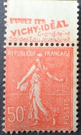 R1934/97 - 1924 - TYPE SEMEUSE LIGNEE - N°199 NEUF** BANDE PUBLICITAIRE ☛ EXIGEZ LES VICHY-IDEAL GRAND TEINT ..... - Werbung