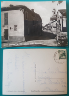 Cartolina Torre Soprana - Piazza Della Parrocchia. Viaggiata 1966 - Genova