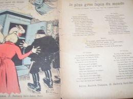 """L HERITAGE DES """"SANS MILLIONS"""" /ANTONIN LOUIS / AIR L AMOUR BOITEUX - Partitions Musicales Anciennes"""