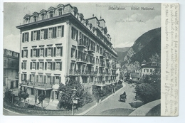 Interlaken Hotel National 8269 Photographie Gabier Caleche - BE Berne