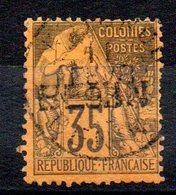 BENIN - YT N° 10 Signé - Cote: 230,00 € - Benin (1892-1894)