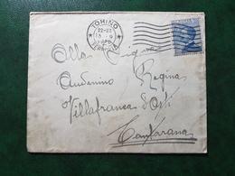 (36983) STORIA POSTALE ITALIA 1920 - Storia Postale