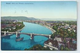 Basel Blick Vom Munster Rheinaufwarts 374 Wilhelm Frey - BS Bâle-Ville