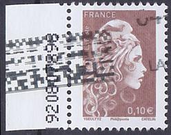 Timbre Oblitéré N° 5250(Yvert) France 2018 - Marianne L'Engagée 0,10 € - 2018-... Marianne L'Engagée