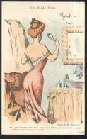 CPA Illustrée - Et Allez Donc - Pub Chambord - Illustrateur Gerbault - Other Illustrators