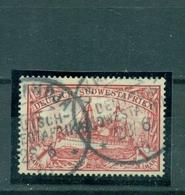 Deutsch Südwestafrika DSWA, Schiffszeichnung Nr. 20 Gestempelt - Kolonie: Deutsch-Südwestafrika