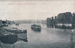 CPA - Belgique - Liège - La Meuse Au Petit Paradis - Liege