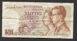 België 50 Frank 14-5- 1966 -NO: 1520 A 7576 - 50 Francs