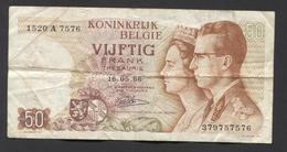 België 50 Frank 14-5- 1966 -NO: 1520 A 7576 - [ 6] Staatskas