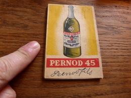 LV16 Petit Bloc Notes Pernod 45 - Andere Verzamelingen